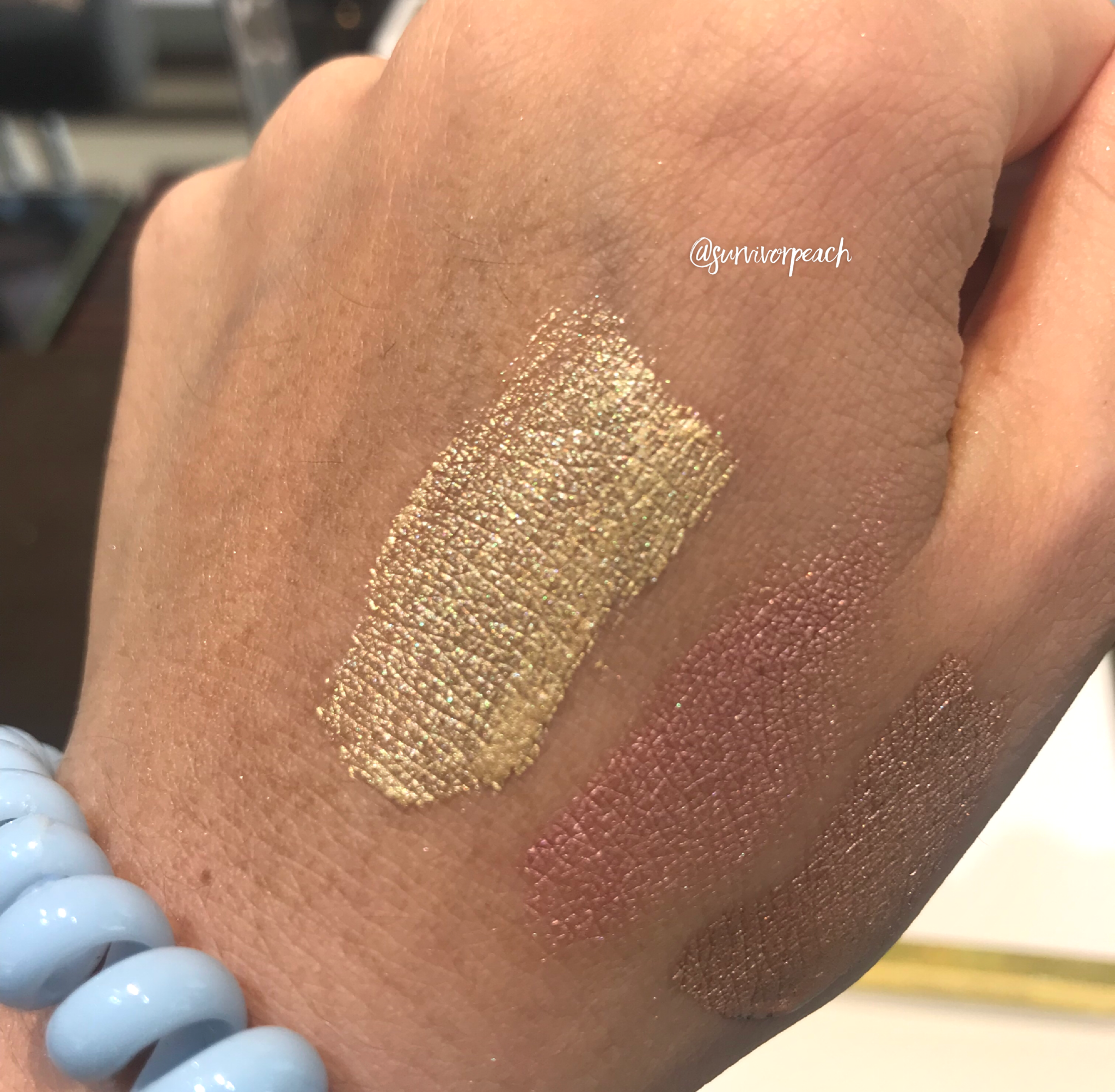 Tomford Aqua Metal Eyeshadow - Reflect Guilt swatches