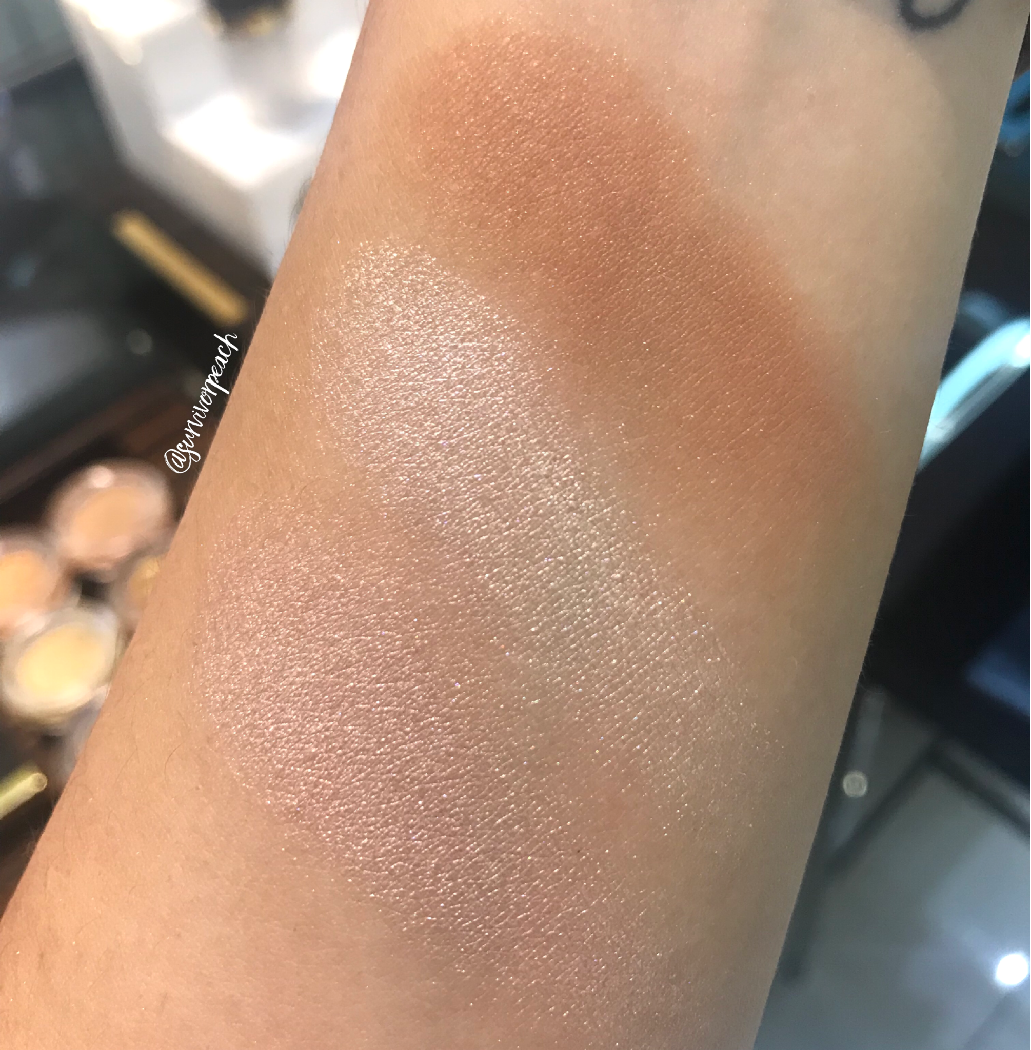 Tom Ford Bask Contouring compact swatches