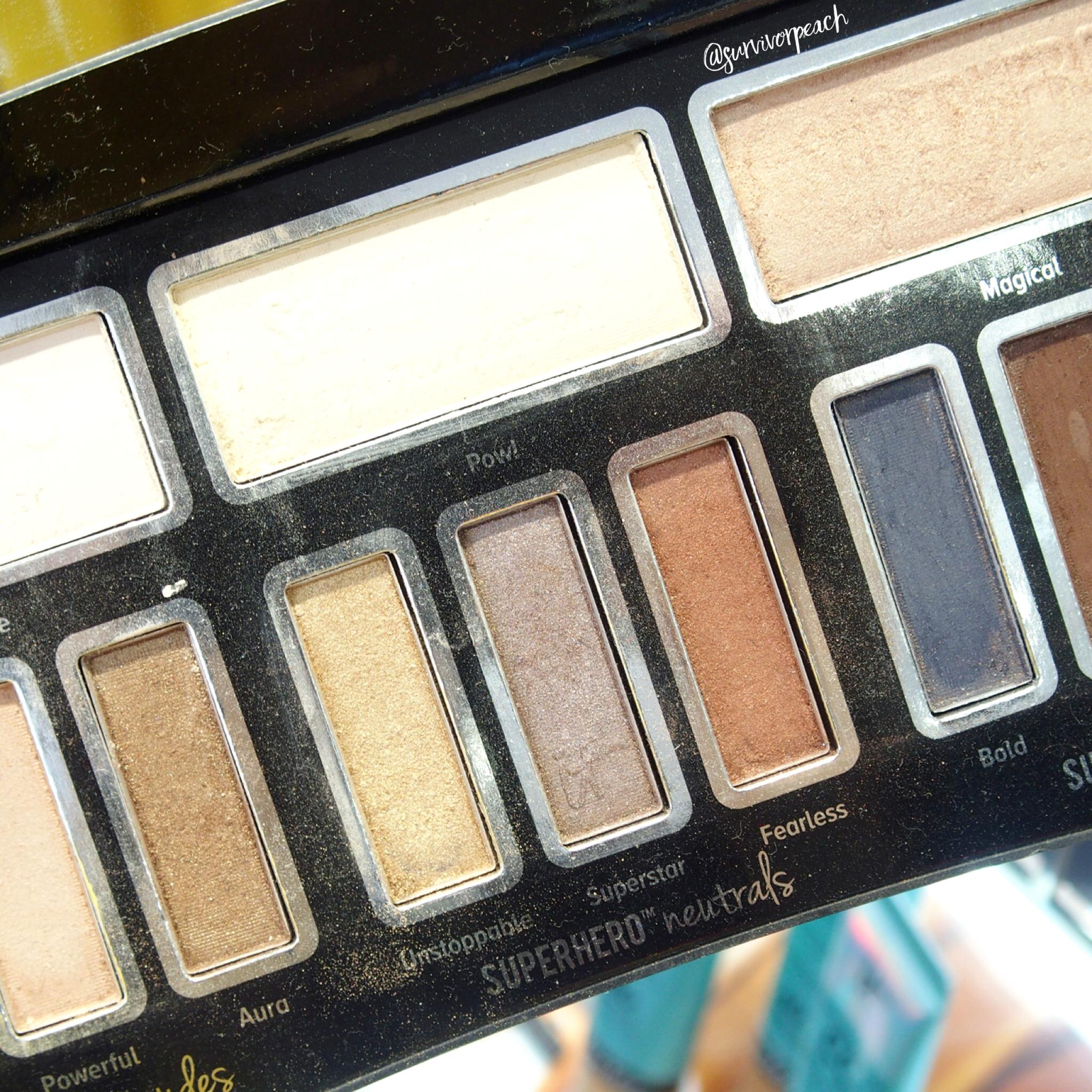 It Cosmetics Superhero Neutrals Eyeshadow Palette