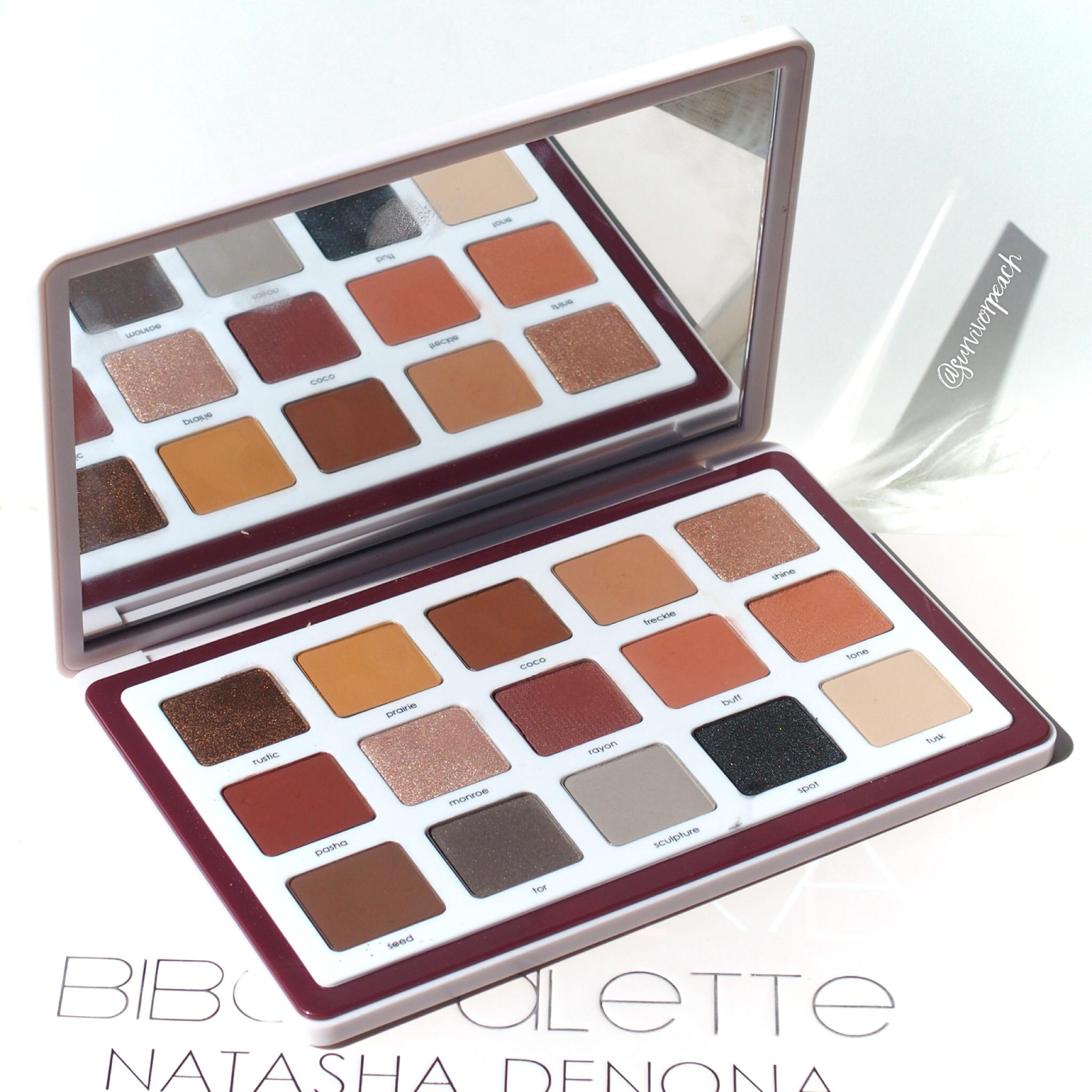 Natasha Denona Biba Palette swatches