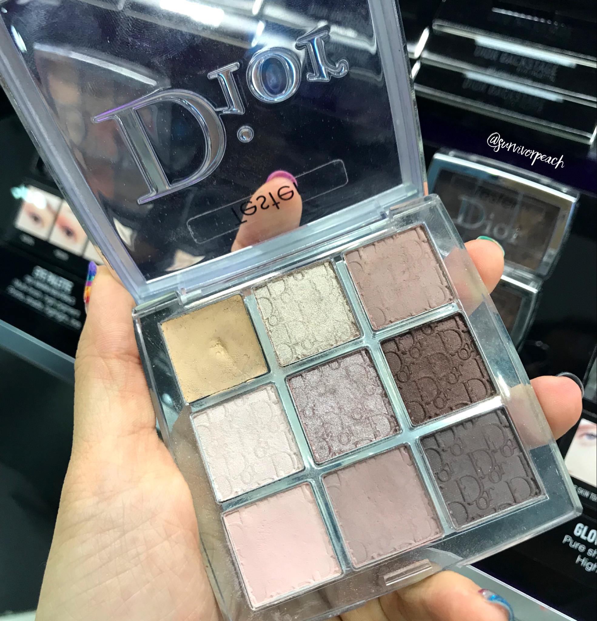 Dior Backstage Eyeshadow palette - Cool Neutrals