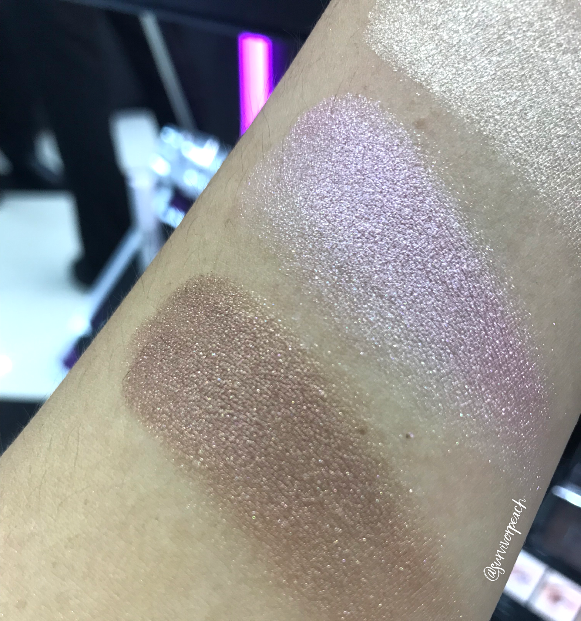 Dior Backstage Glow Face Palette 001 swatches