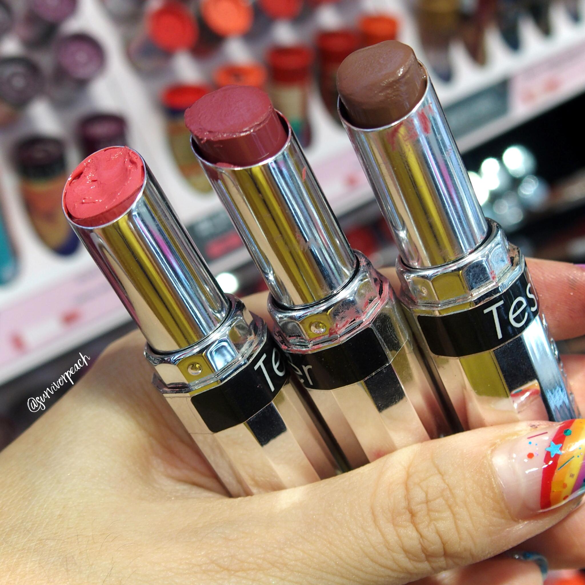Sephora Collection Lipstick Rouge Lacquer Lipstick - L18 Slay, L19 Stronger, L20 Squad Goals