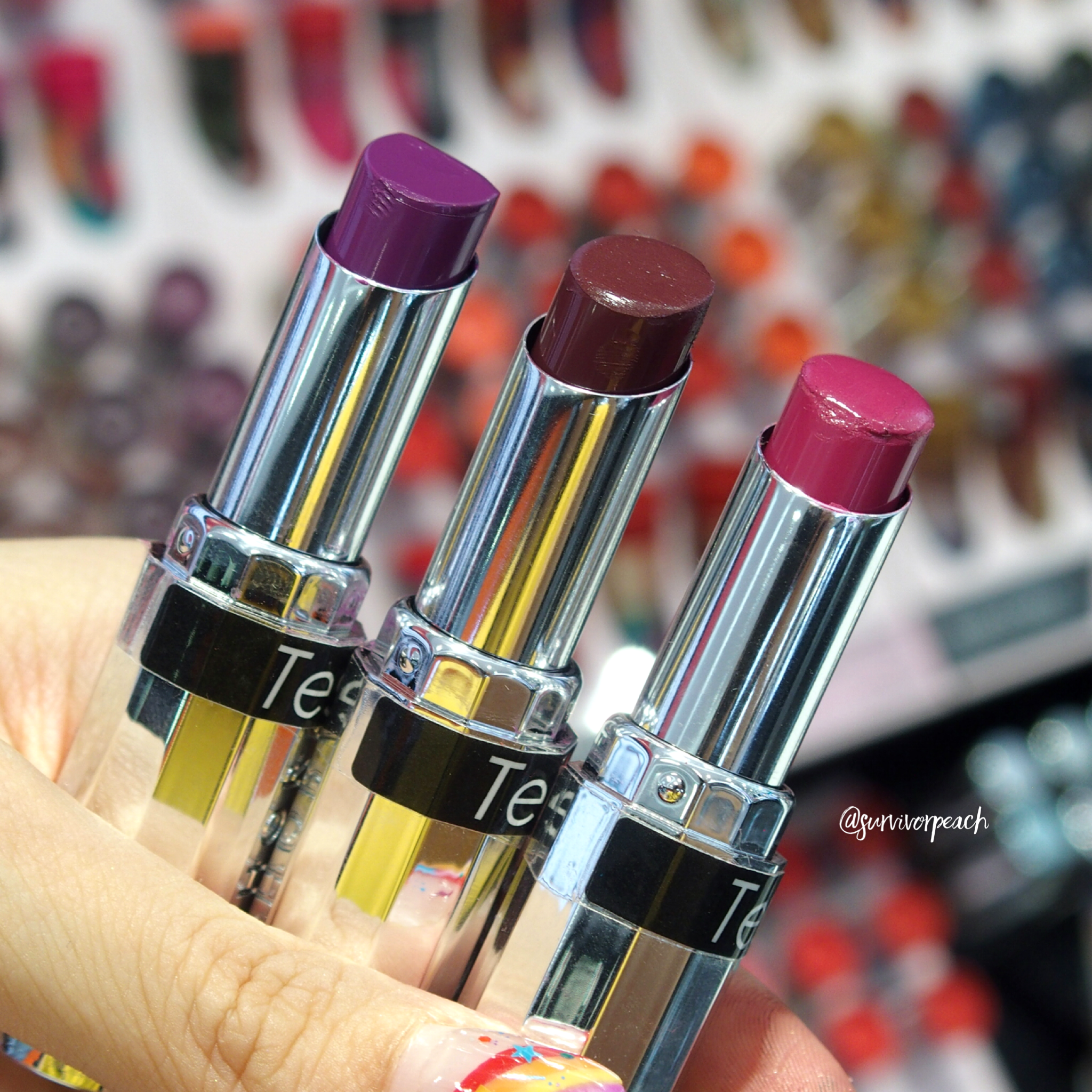Sephora Collection Lipstick Rouge Lacquer Lipstick - L05 What's My Secret?, L06 Who Runs the World?, L07 Elegance