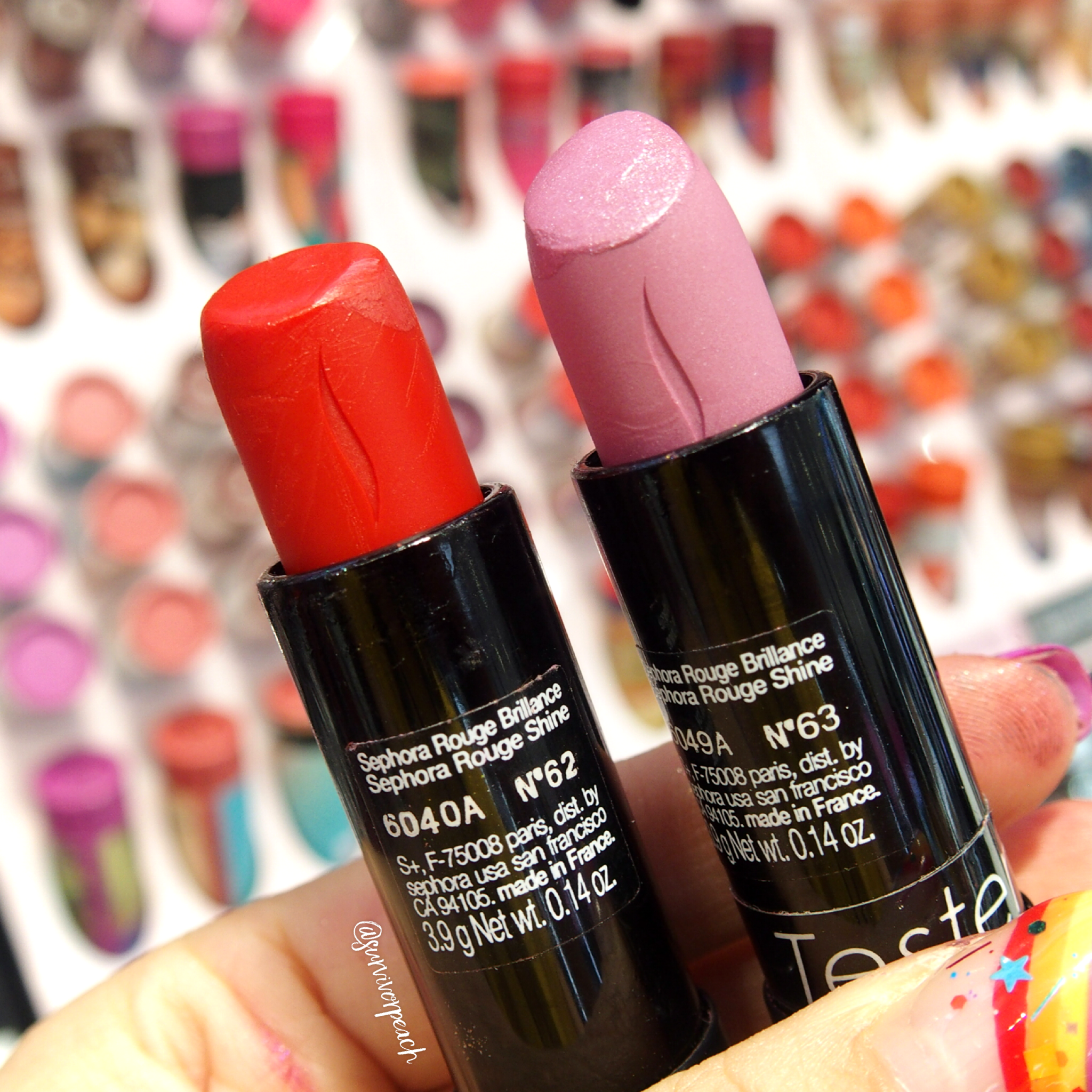 Sephora Collection Rouge Shine: N62, N63