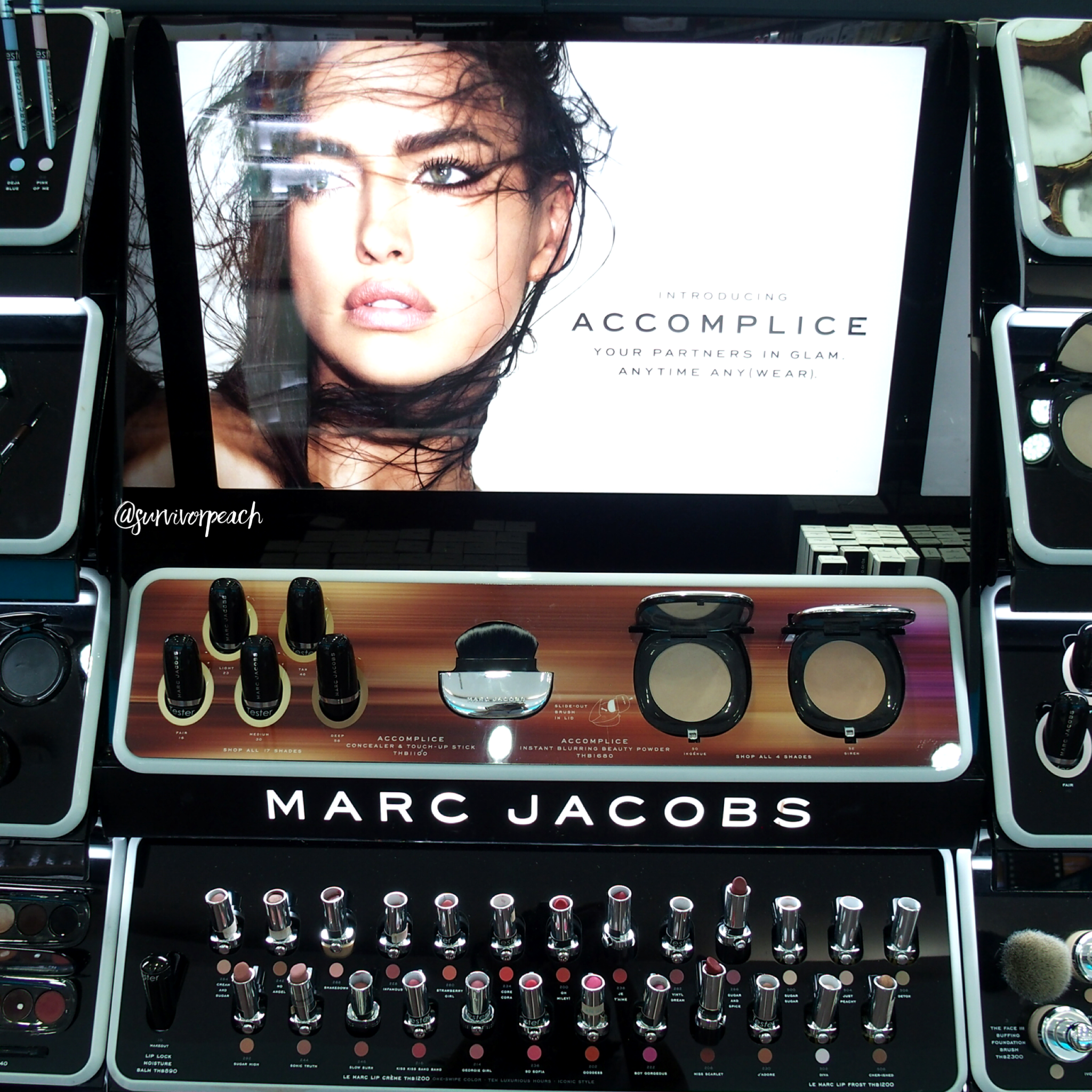 Marc Jacobs Accomplice Concealer & Touch Up Stick