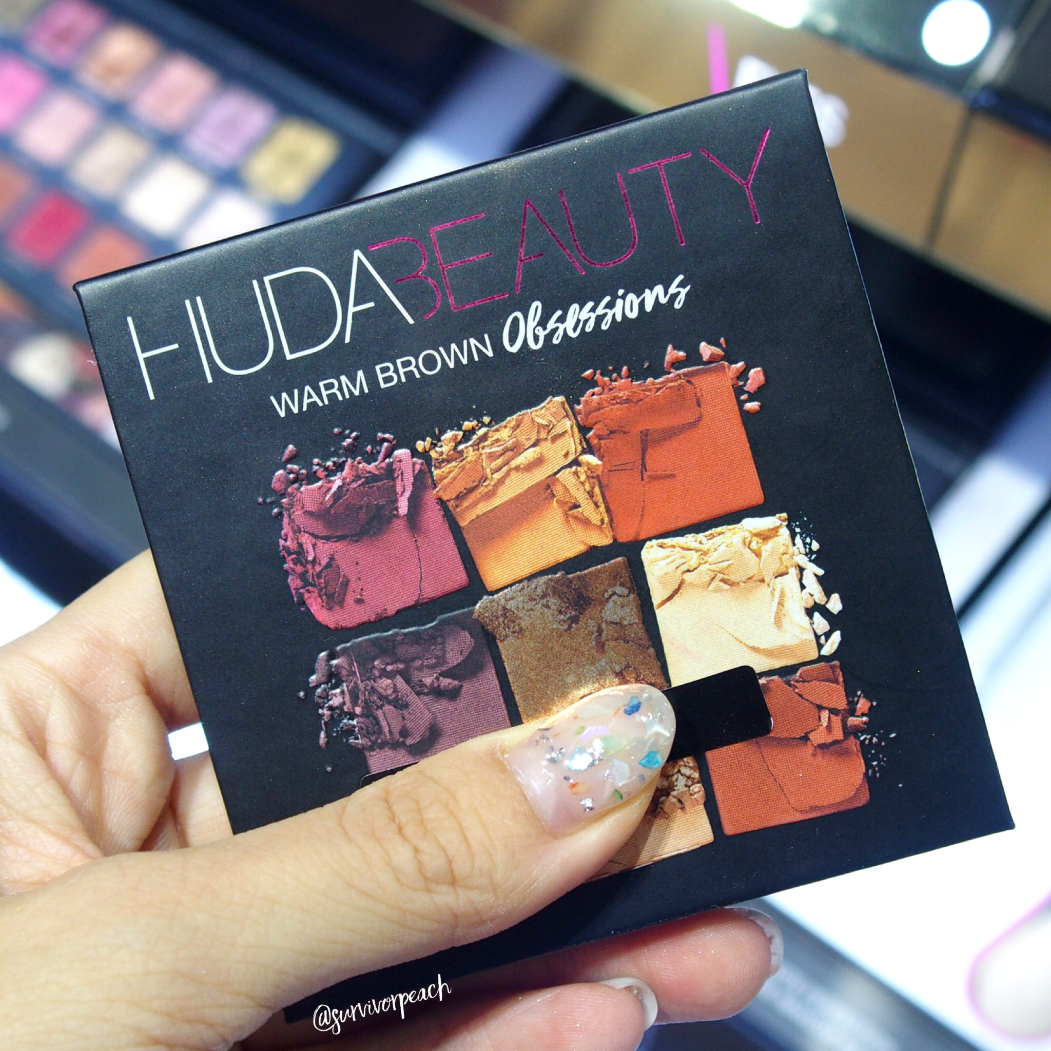 Huda Beauty Obsessions Palette - Warm Brown Obsessions