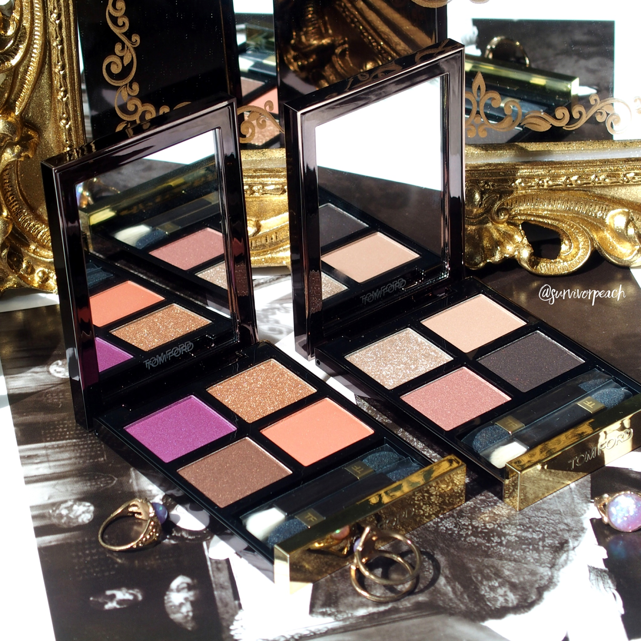Tomford Beauty Disco Dust & Leopard Sun Eyeshadow Quad
