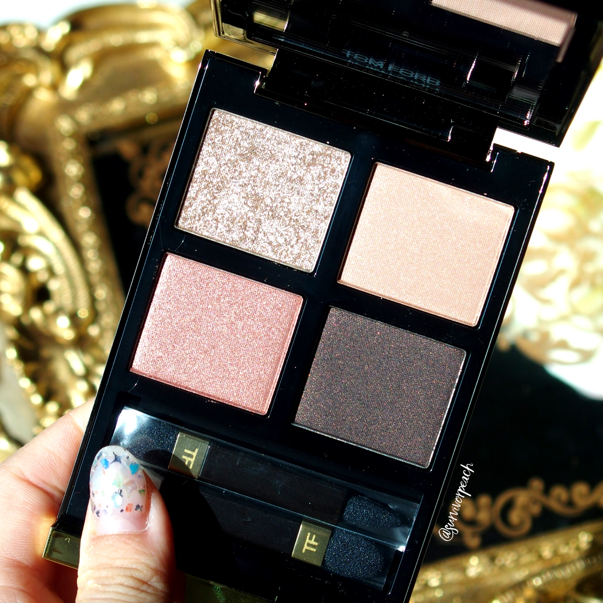 Tomford Beauty Disco Dust Eyeshadow Quad