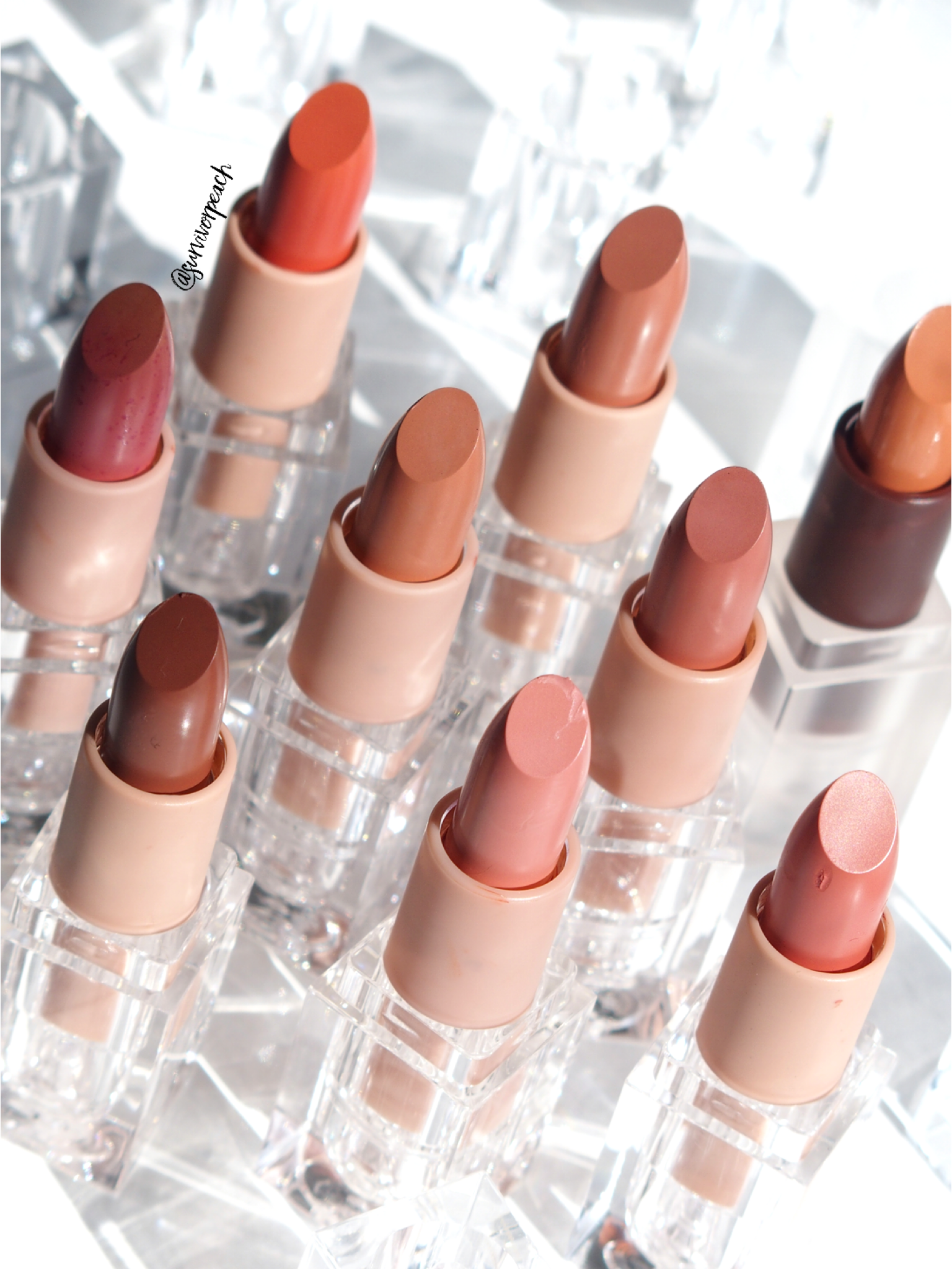 Kkw Beauty Creme Lipsticks Review And Swatches Survivorpeach