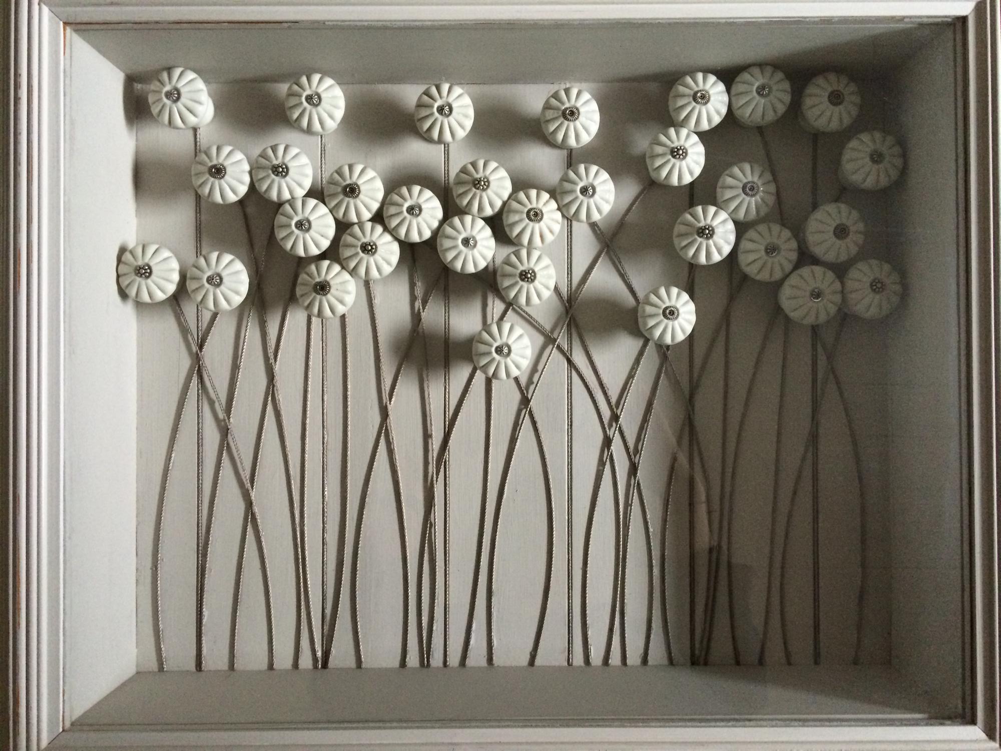 Victorian Doorknob flowers
