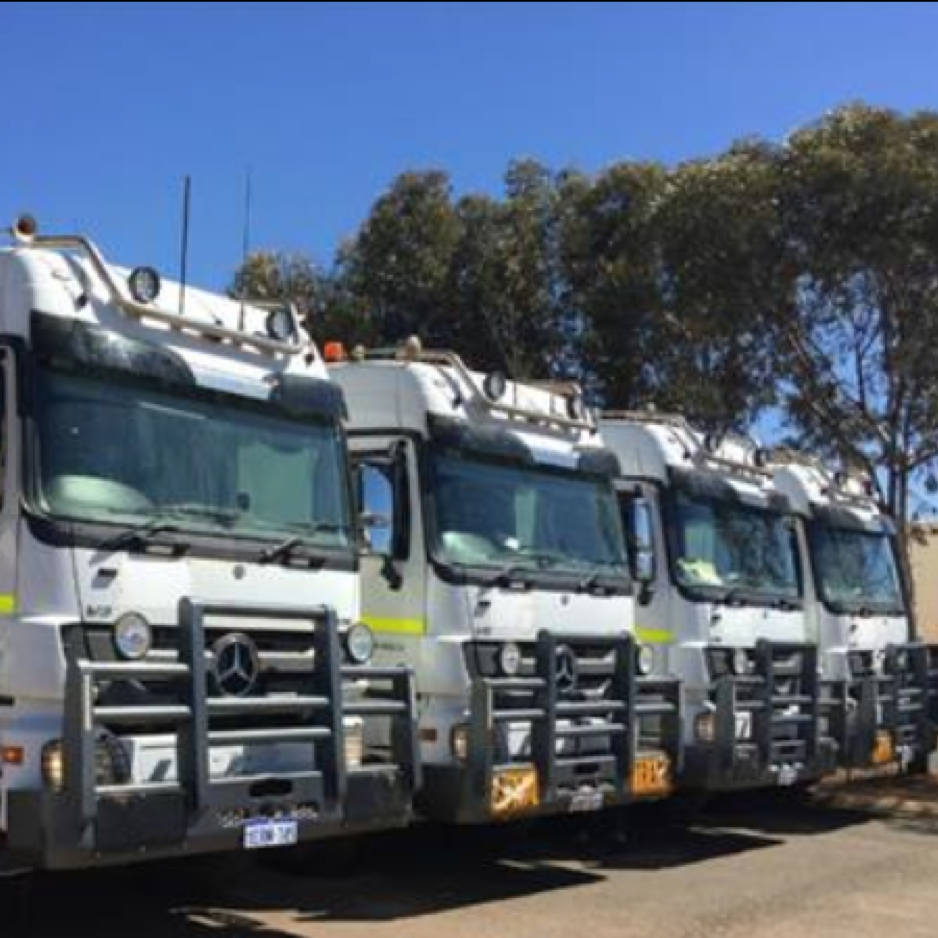 Nathan River Resources has invested in its own equipment including a fleet of road trains and a number of marine assets.
