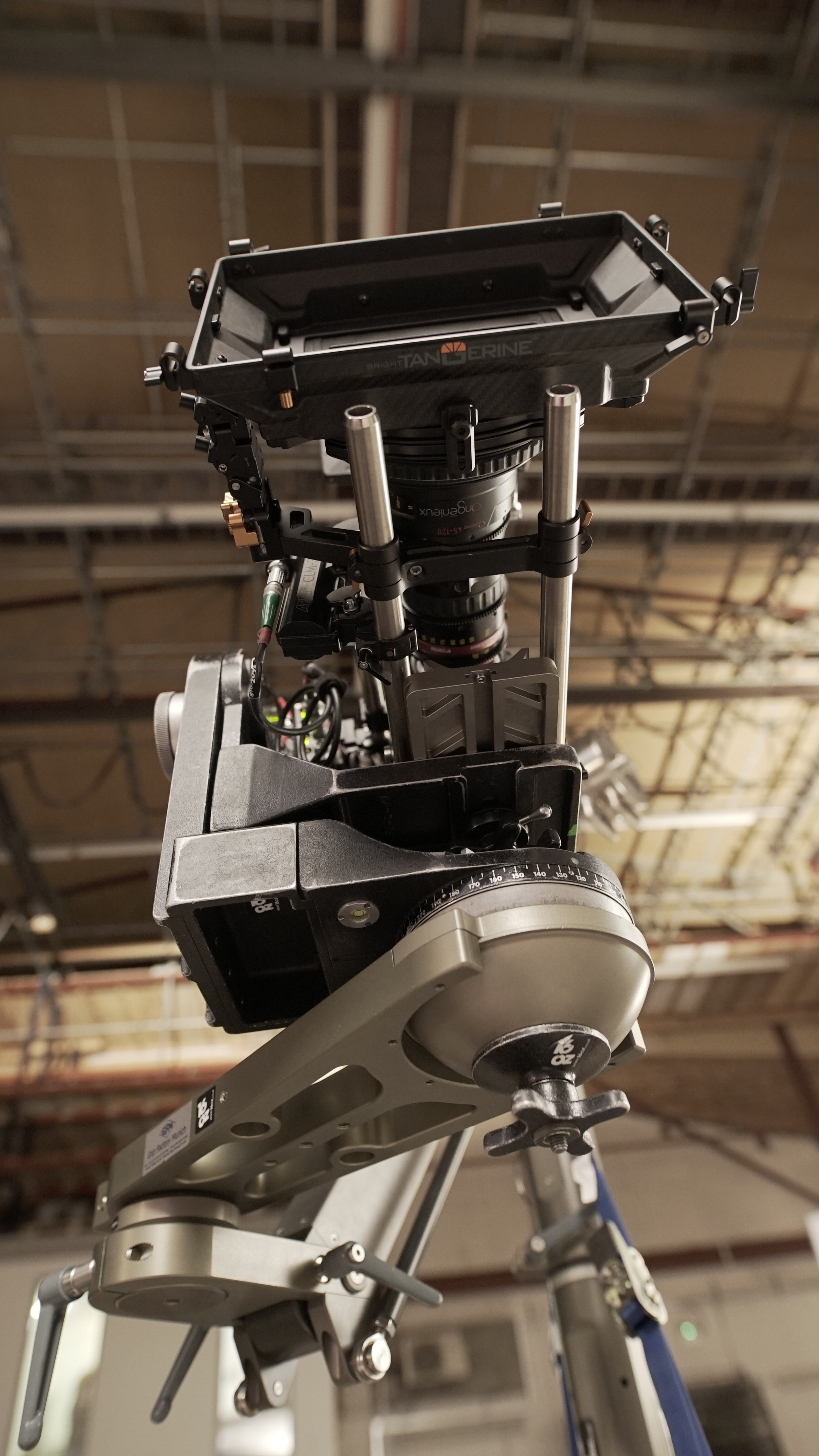 Ronford F7 Head with Angenieux 45-120mm