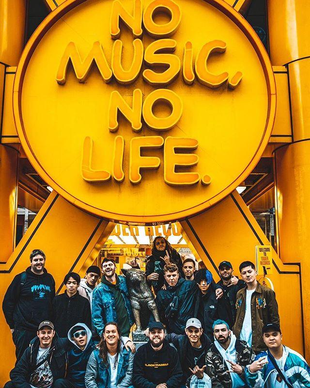 Tour in Japan starts tomorrow ! 📷 @ypk_photo