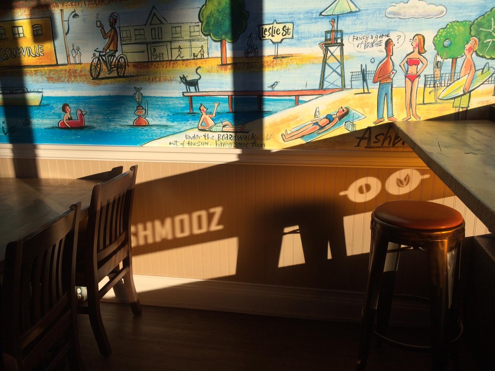 wall of Shmooz with Shmooz shadow.jpg