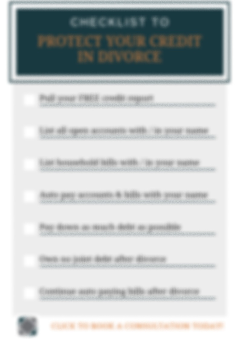 Download Your FREE Checklist Today!