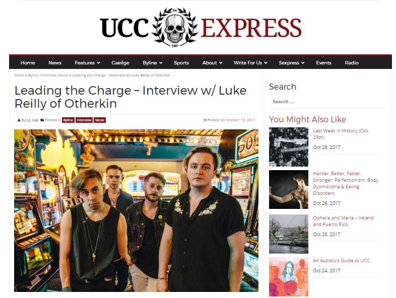 Otherkin - UCC Express - Also in print