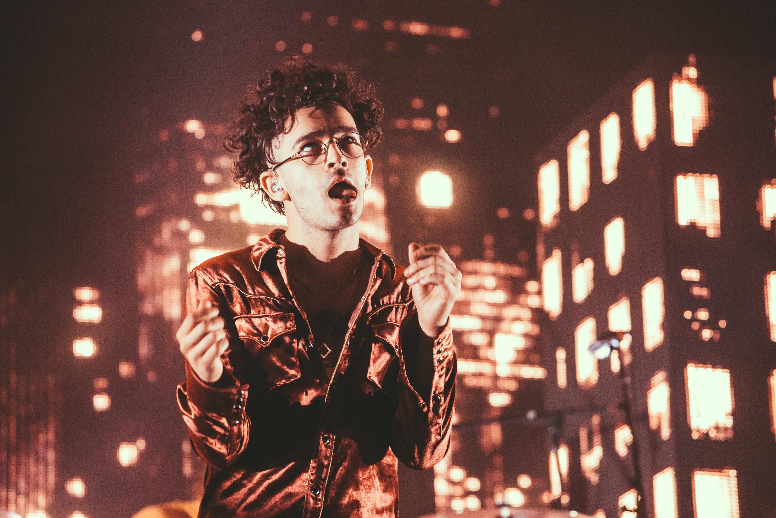 Matty, The 1975 - Leeds Festival