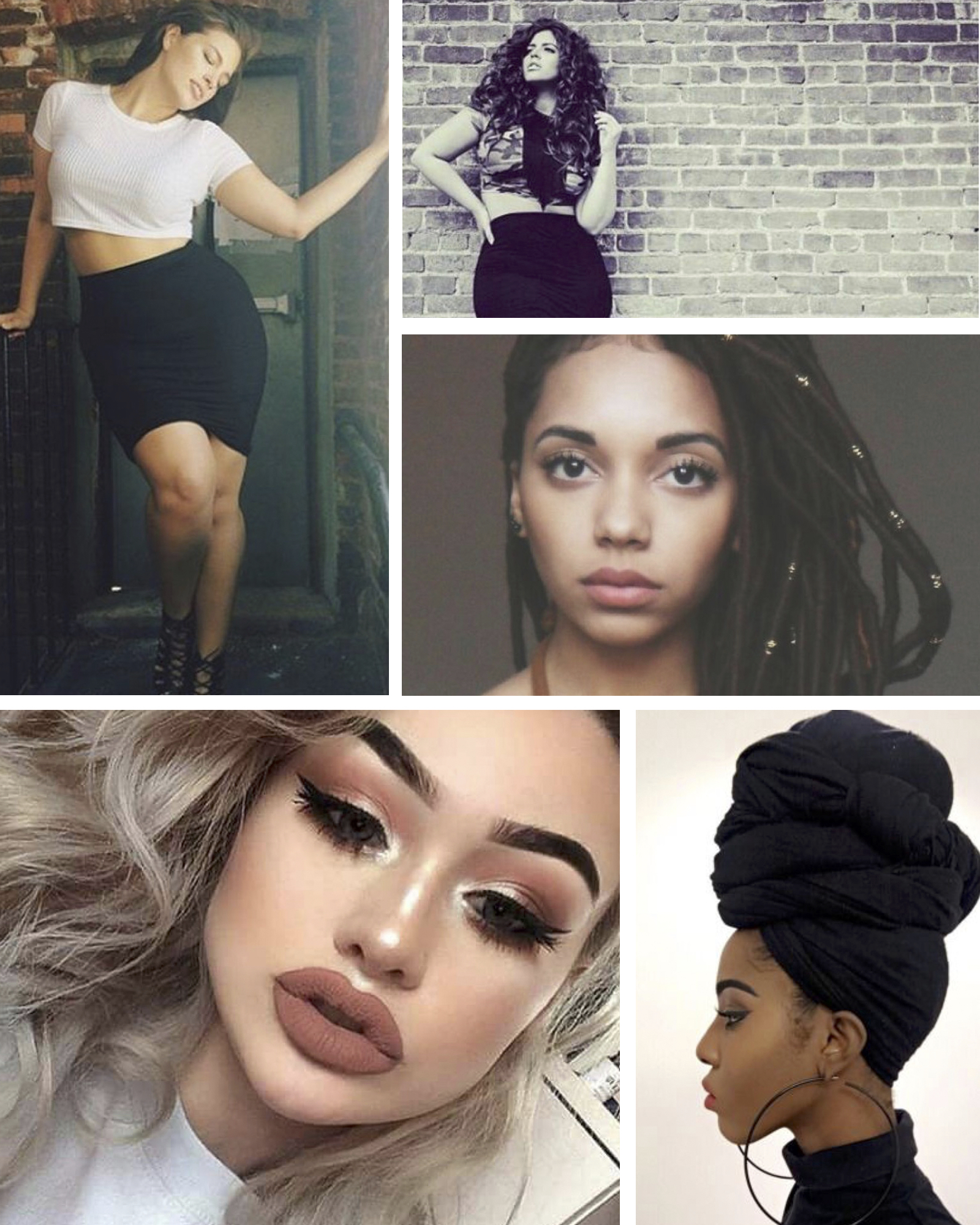 Mood board inspiration for blogger  Ta'lor Pinkston . Images pulled from Pinterest.