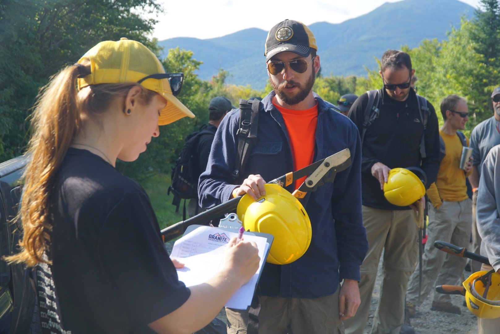 Sherburne + Gulf of Slides Trail Work - Project Type: Trail WorkStatus: APPROVEDLevel: FEDERALDate: June 23rdTime: 8am - 4pmLocation: Pinkham Notch Visitor CenterContact: GBARSVP: TBDVolunteer Waiver: TBD
