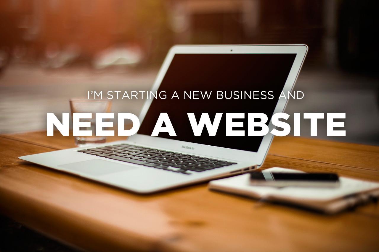 Esta Empezando un nuevo negocio…  Ud nesecita un website