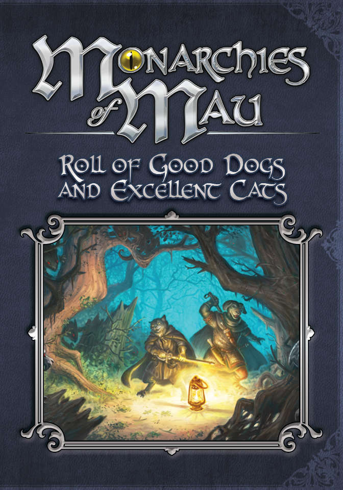 Ready-made characters and adventure ideas for  Mau  and  Pugmire!