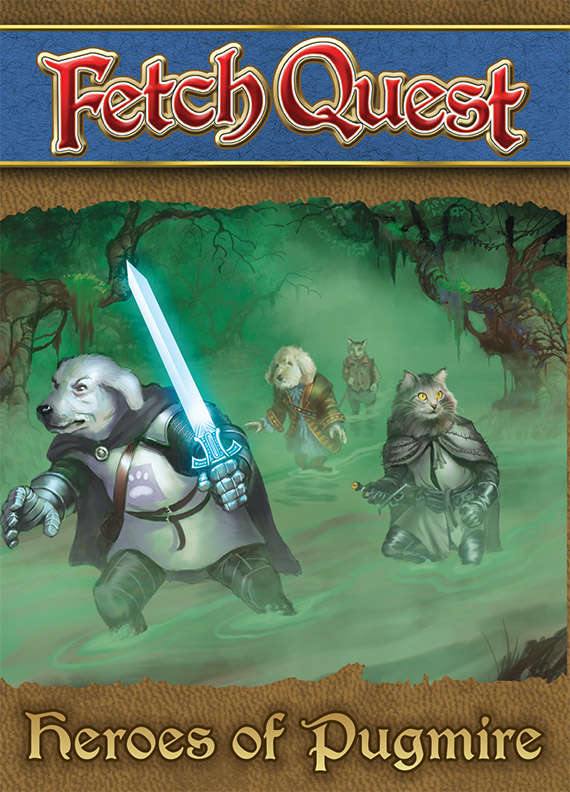 Heroes of Pugmire  adds ten new pioneers to play in  Fetch Quest !