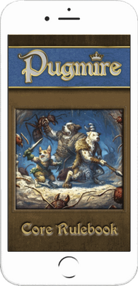 Pugmire was the first ever phone-sized PDF made by DriveThruRPG. Get a  free  version today!