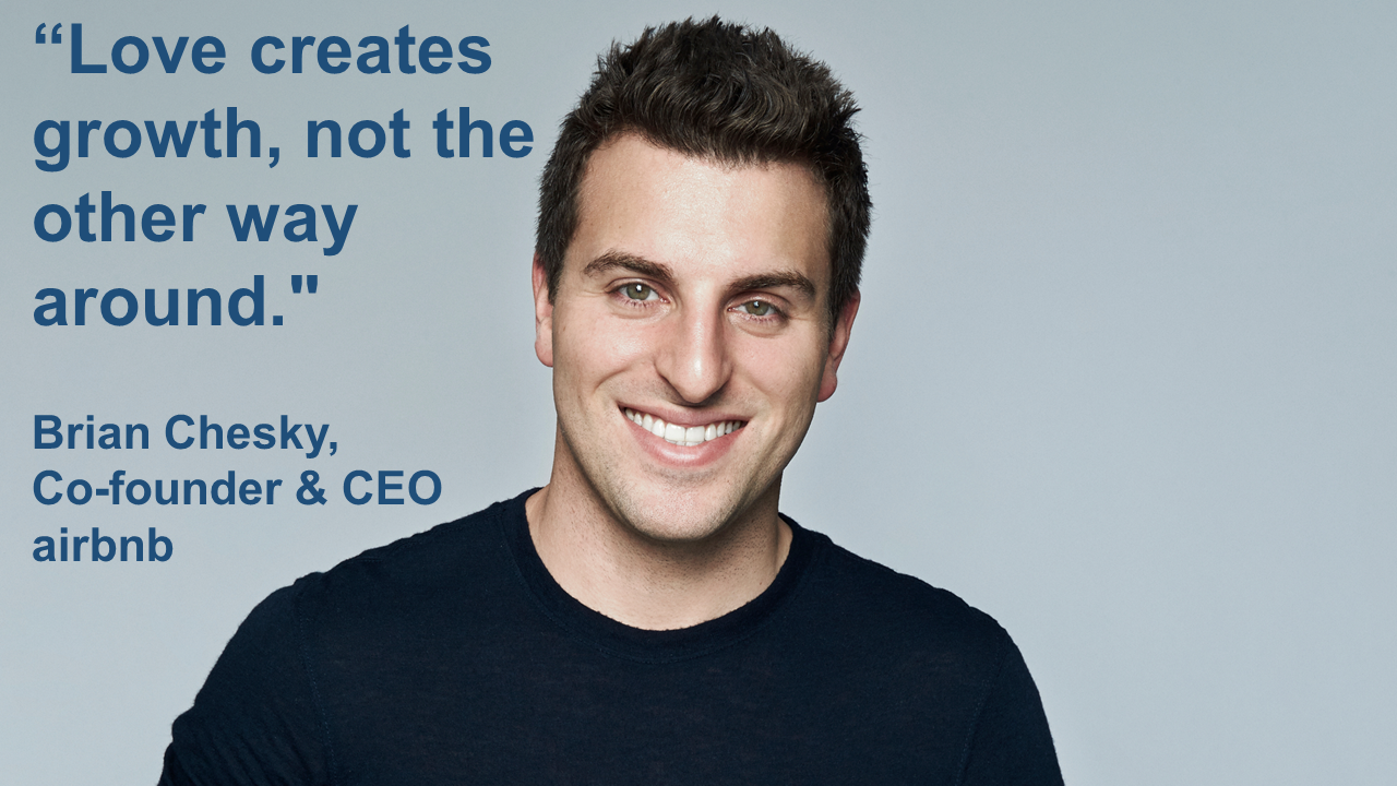 Brian Chesky Co-fundador & CEO de airbnb