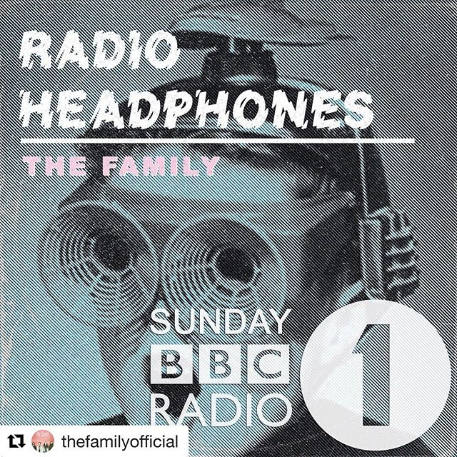 This Sunday @thefamilyofficial @bbcradio1 @danielpcarter