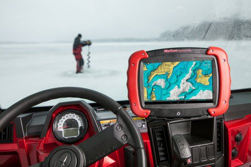 Photo Credit - Ben Larson - In-Depth Media Productions  Featured - The  Marcum RT-9 Sonar/GPS/Camera Combo