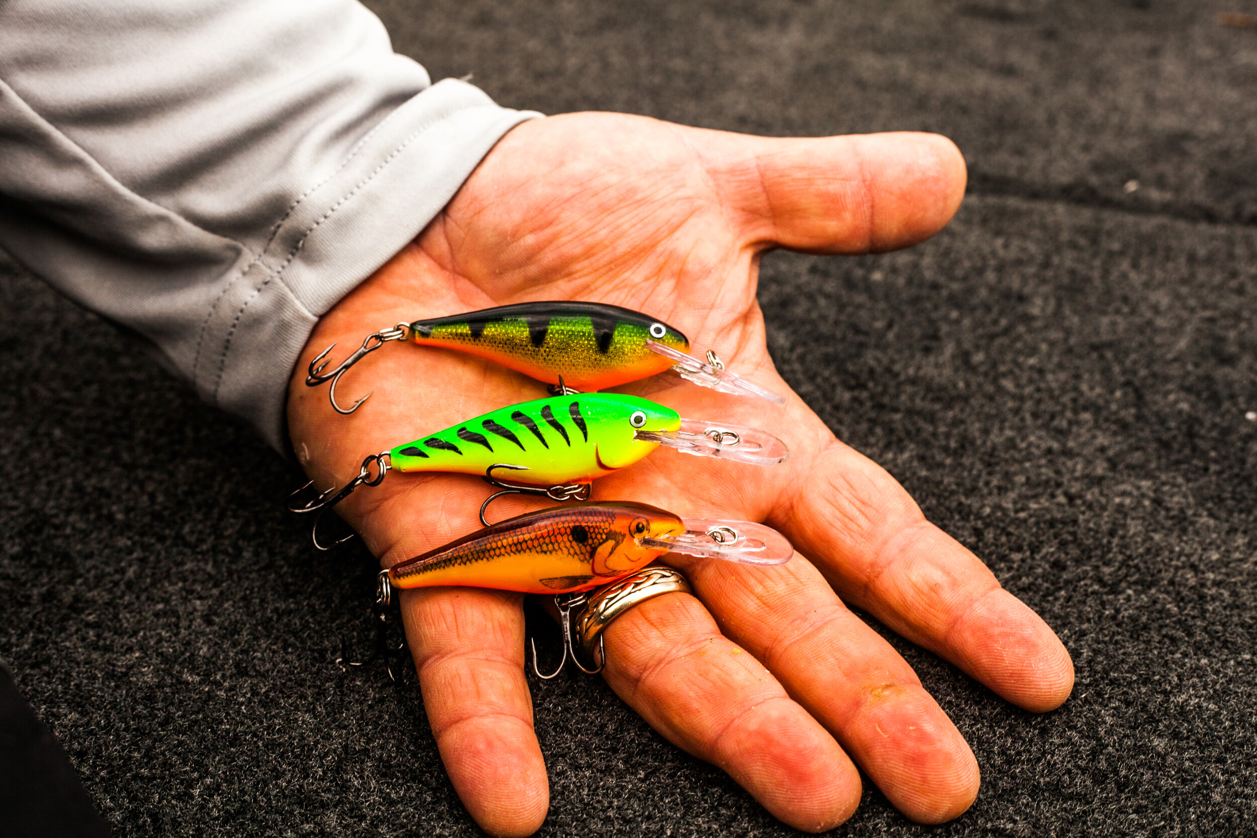 It's tough to beat a Shad Rap for multiple applications (trolling and casting) in both rivers and lakes.