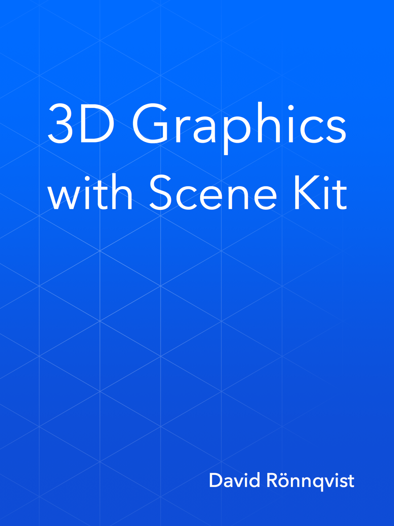 3D GRAPHICS WITH SCENE KIT    Copy editor for a book about creating 3D graphics in Scene Kit.