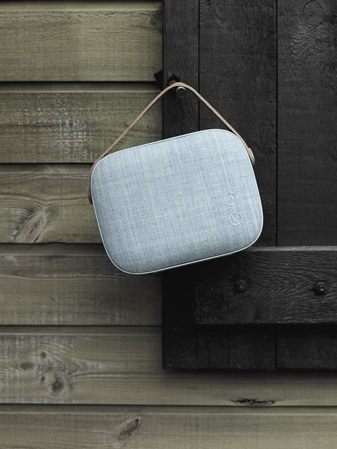 VIFA Helsinki Bluetooth Speaker - a great example of the recent fusion between fashion/ textiles and consumer electronics