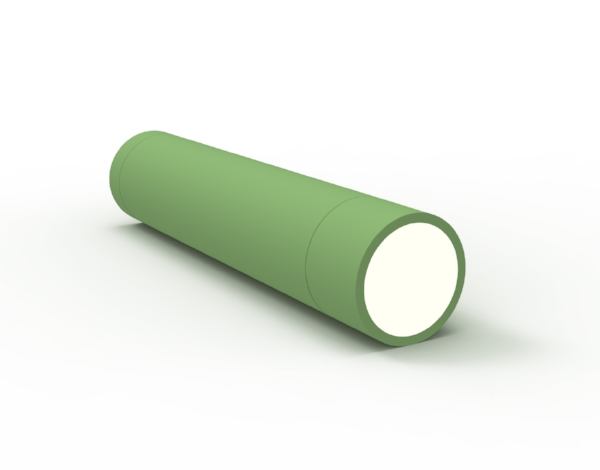 A proposed OLED flashlight - simple tube for occasions when you need only a flashlight