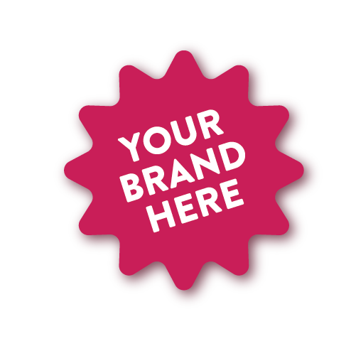 Branding - We can brand the packaging and product however you like.