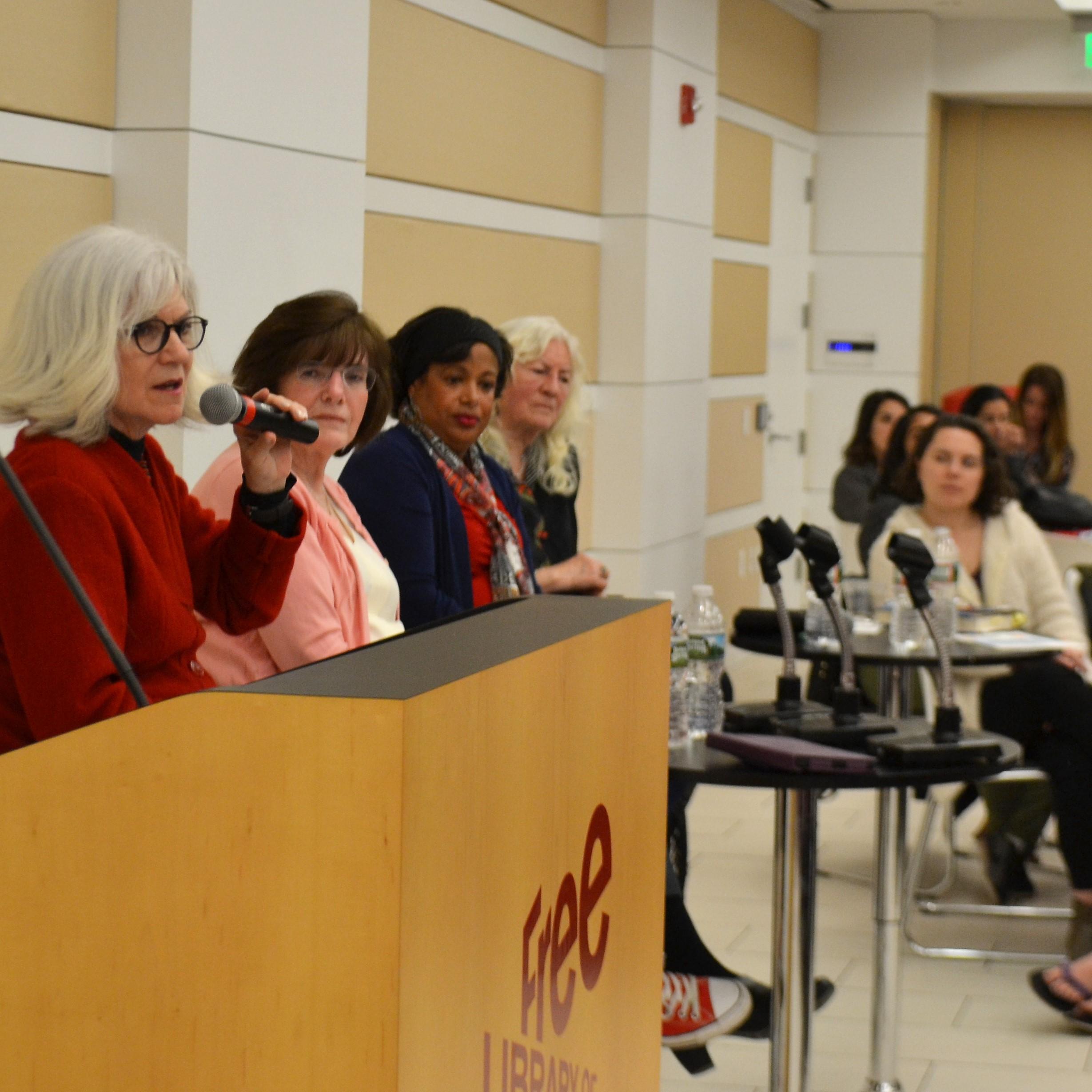 Disrupting the Patriarchy 2017 Panel