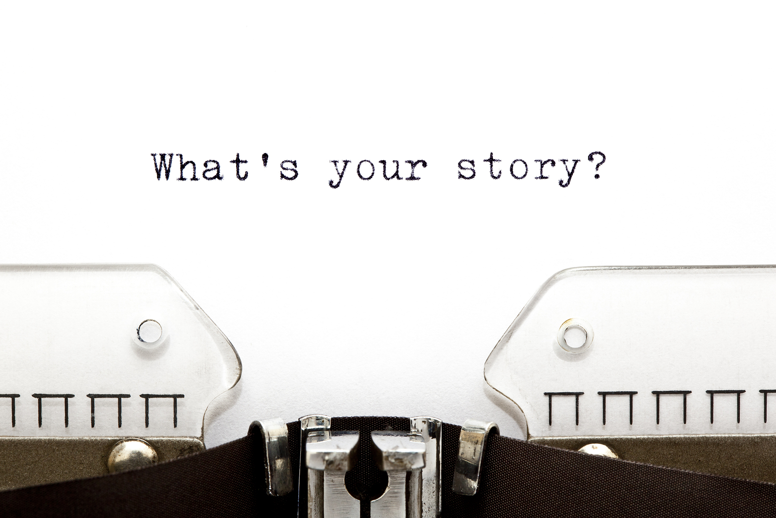 Your life experiences have made you into the unique person you are. Tell your story. -