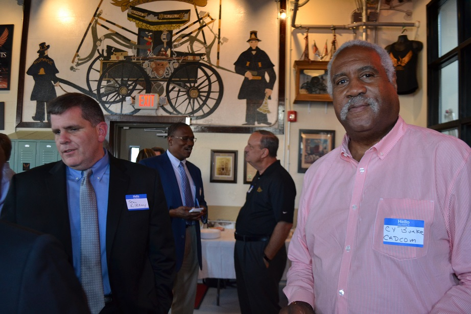 Norristown Chamber of Commerce event at Five Saints (3).JPG