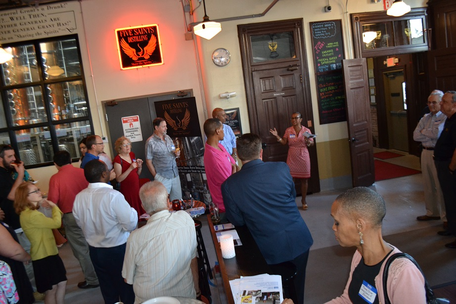 Norristown Chamber of Commerce event at Five Saints (9).JPG