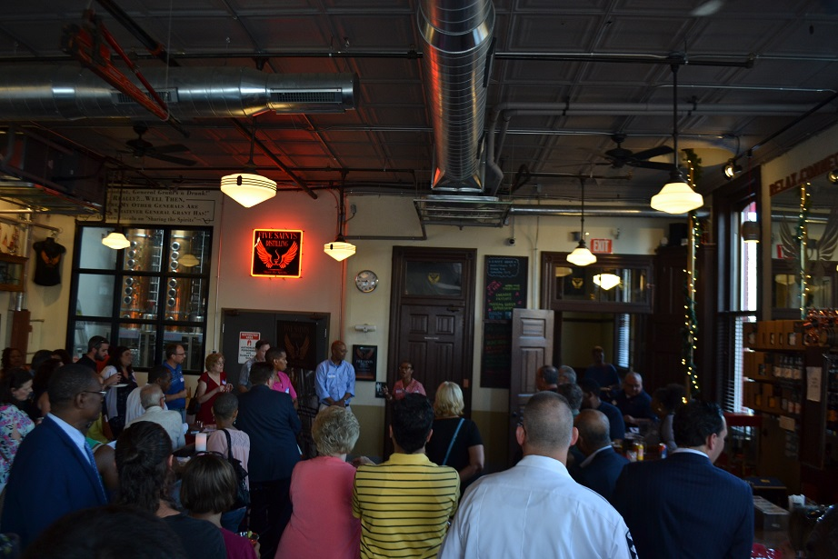Norristown Chamber of Commerce event at Five Saints (10).JPG