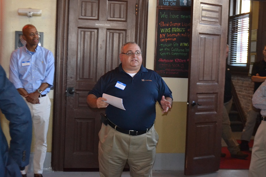 Norristown Chamber of Commerce event at Five Saints (15).JPG