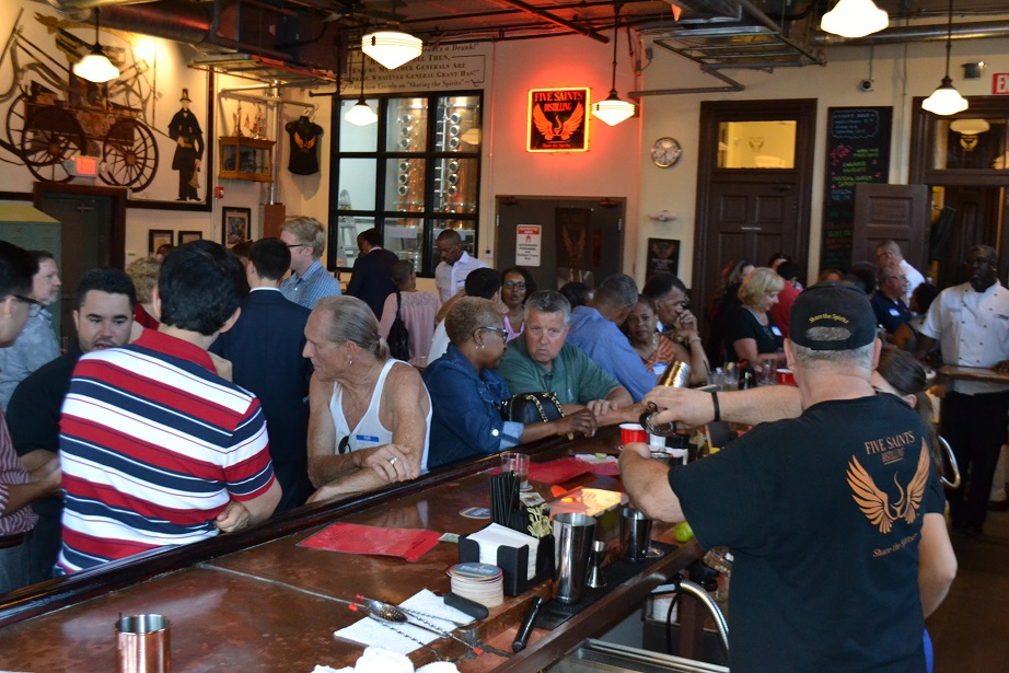 Norristown Chamber of Commerce event at Five Saints (26).JPG