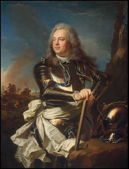Le Comte d'Evreux peint par Hyacinthe Rigaud vers 1720