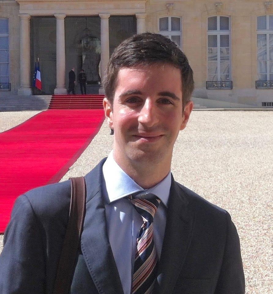 Dimitri Petrakis, Promo 11, diplômé en management public international