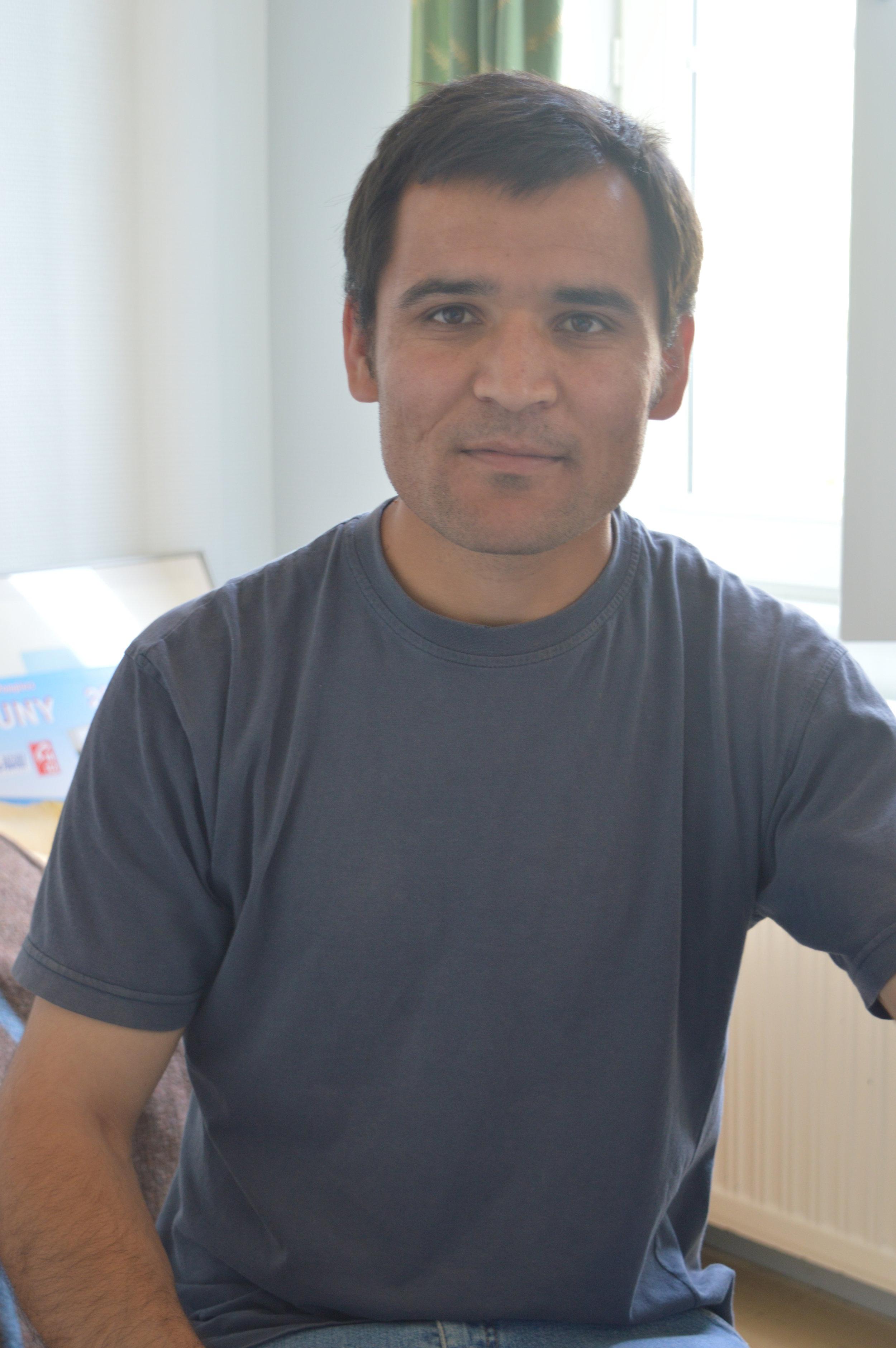 Nemat, réfugié afghan de 26 ans