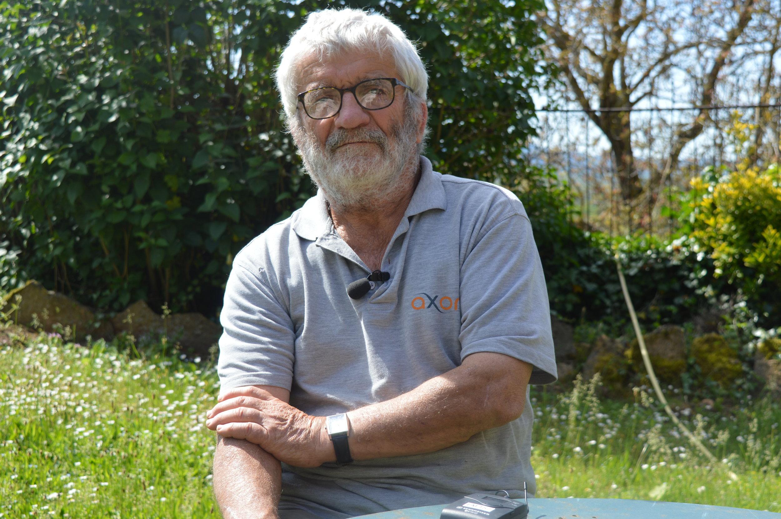 Georges Bouillin, maire de Taizé