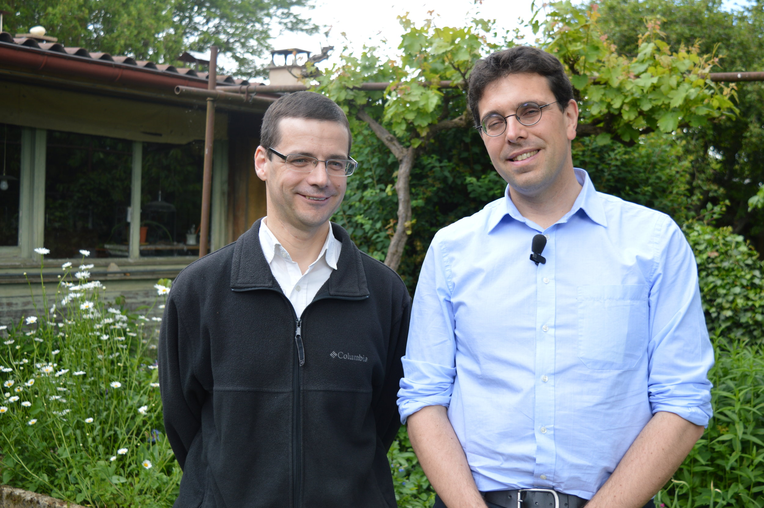 Frère David et Frère Maxime