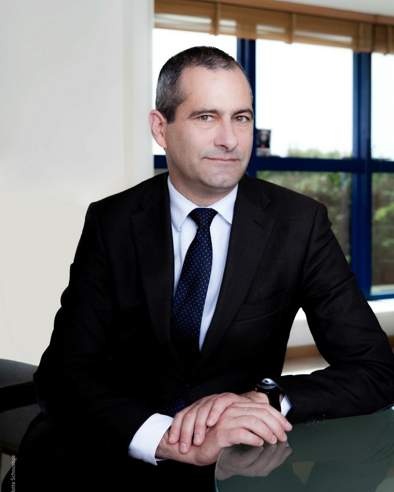 """""""A l'heure des réseaux sociaux, les enjeux pour l'INA sont passionnants"""", Laurent Vallet, président de l'INA.   Photo : Charlotte Schousboe"""