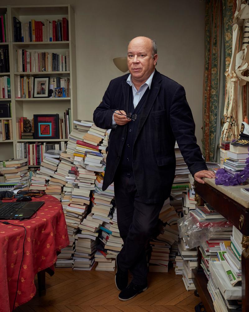 """""""Ma macronophilie est née par contraste avec l'incurie qui a précédé"""", Marc Lambron, écrivain.   Photo : Manuel Braun"""